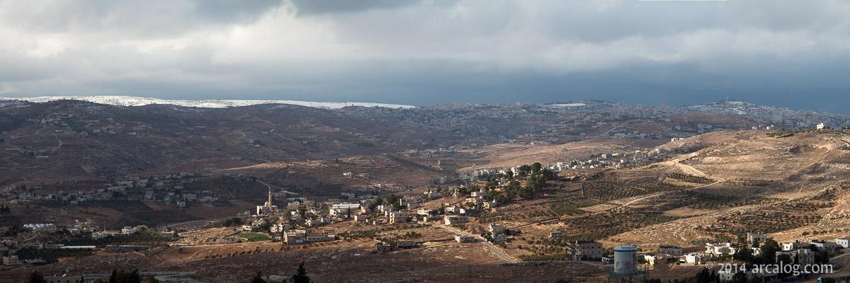 Bethlehem in snow