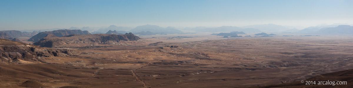 wilderness of Jordan around Petra