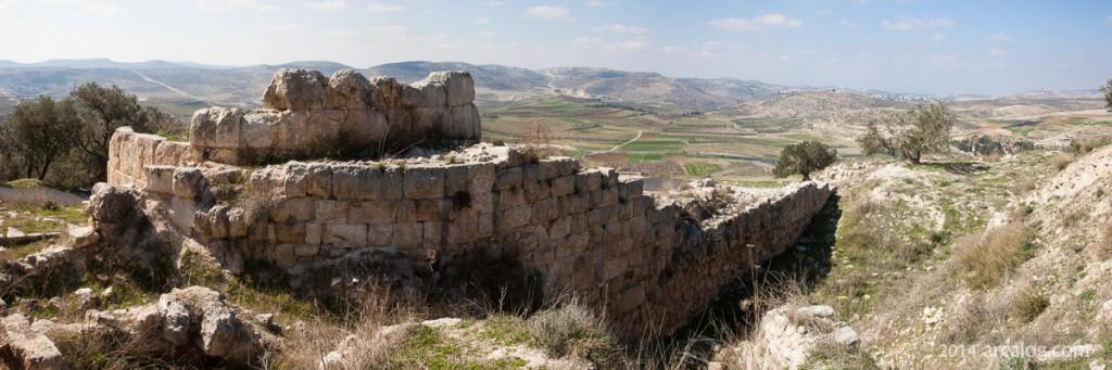 Samaria - Greek Tower Gate