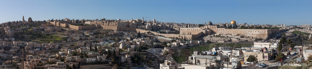 Jerusalem from the Hill of Corruption