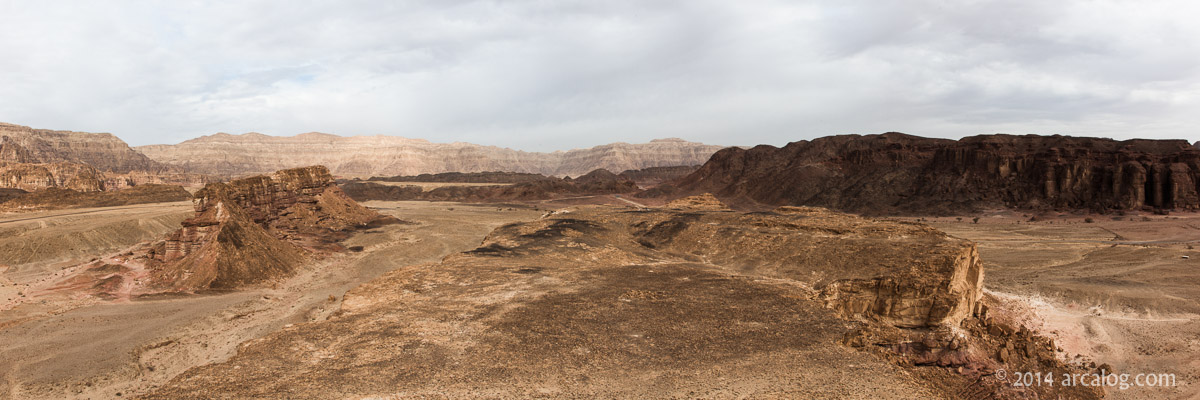 Timnah Valley Panorama