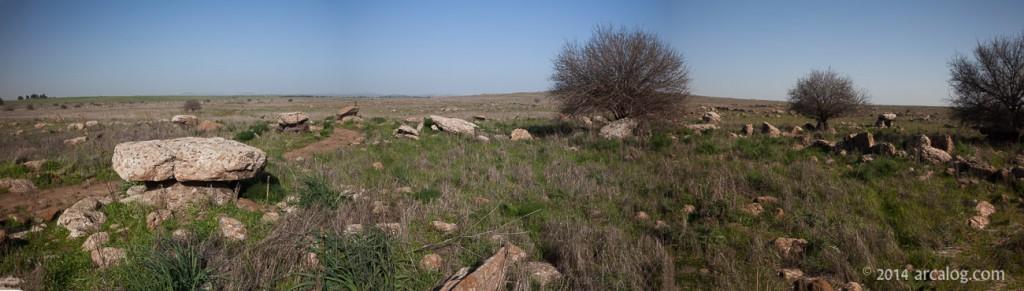 Dolmen Field in Golan