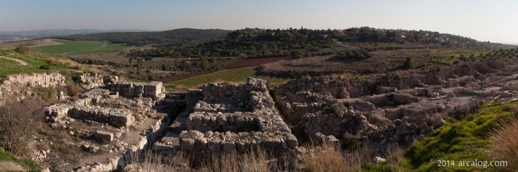Six Chamber Gate at Gezer