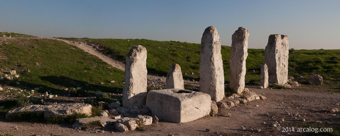 Gezer Standing Stones