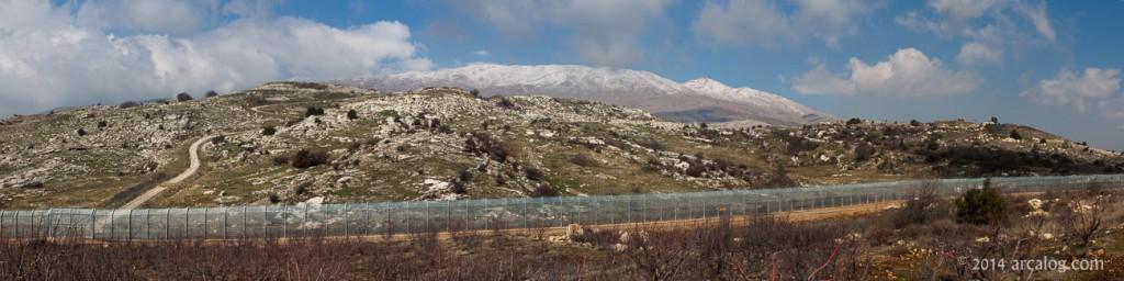 Mount Hermon from Golan