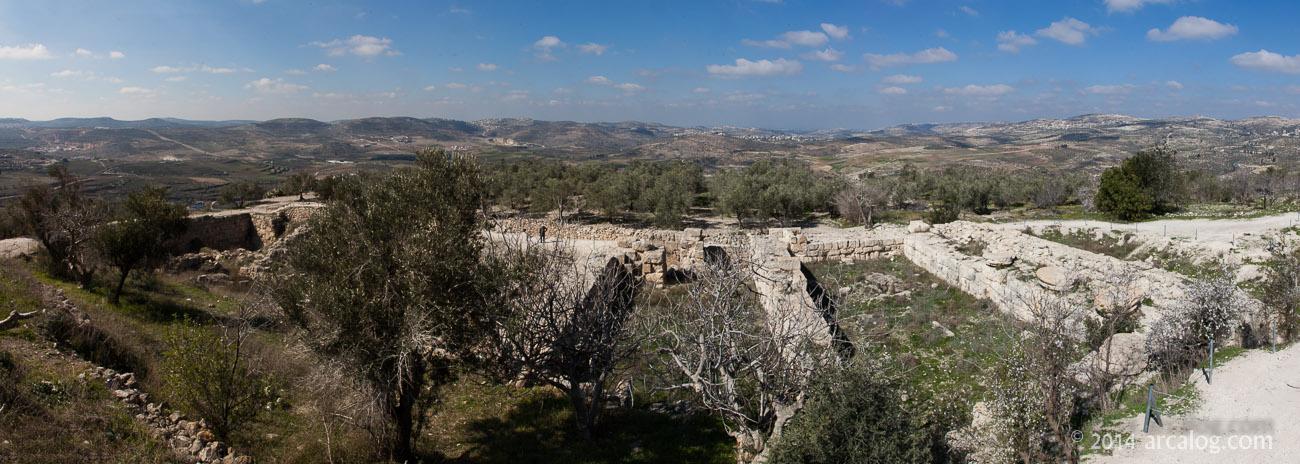 The Acropolis of Samaria