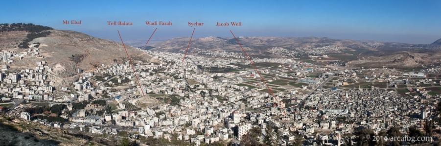 Shechem and Sychar