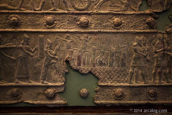 Assyrian siege warfare