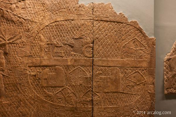 Assyrian Encampment Lachish Relief