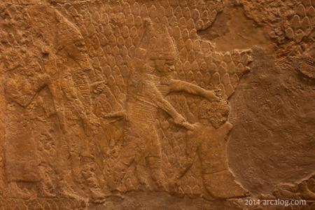 Beheading prisoners Lachish relief