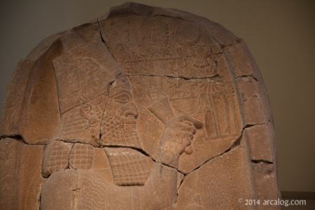 Essarhaddon with his gods