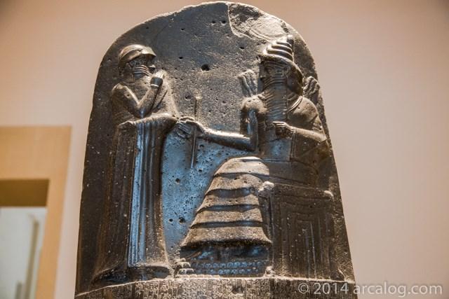 Shamash and Hammurabi