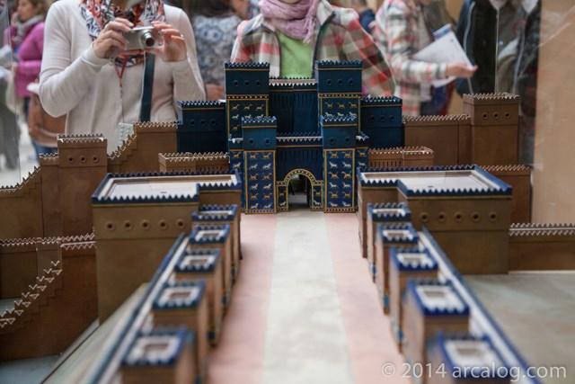 Model of Ishtar Gate