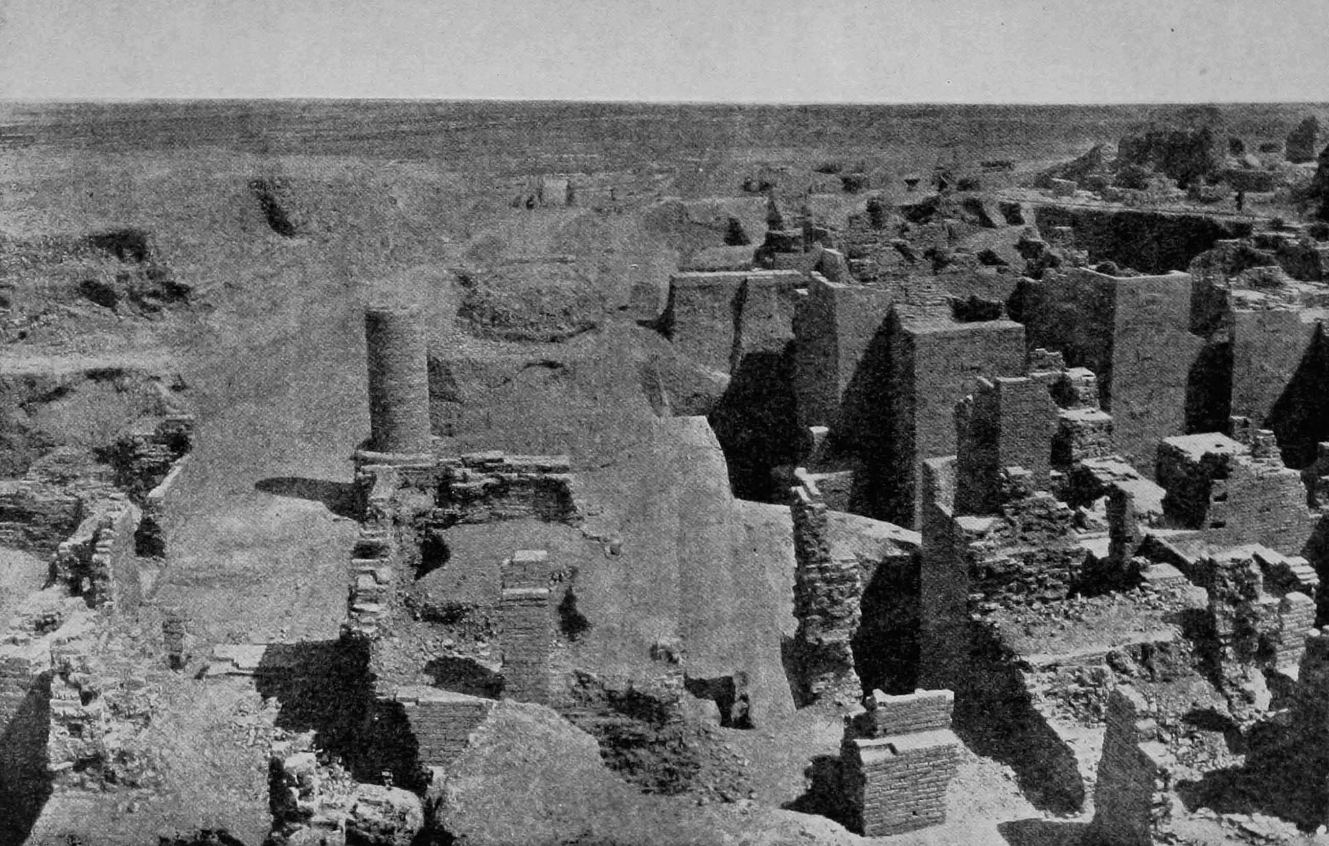 Excavations of the Ishtar gate - Koldewey