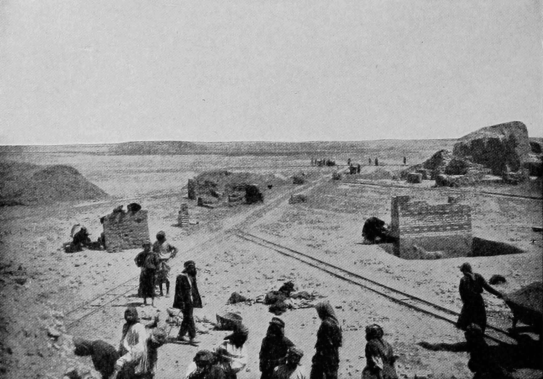 excavations of the Ishtar Gate