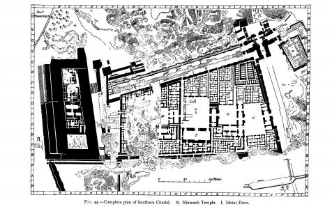 Southern citadel in Babylon