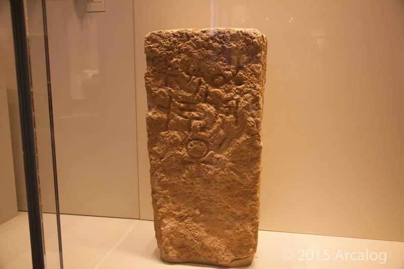Achziv Tombstone with Ankh Symbol